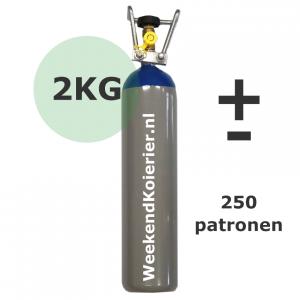 lachgas tank 2kg fles