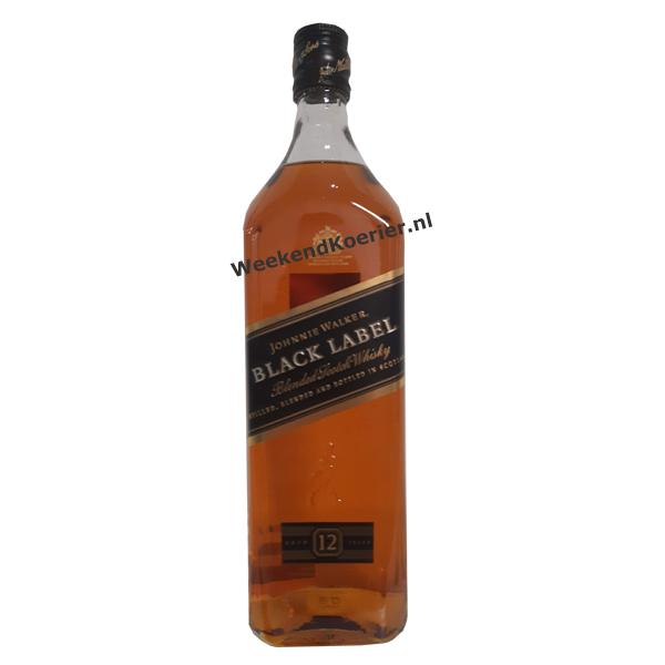 black label whisky thuisbezorgd