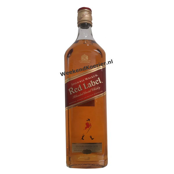 red label whisky thuisbezorgd
