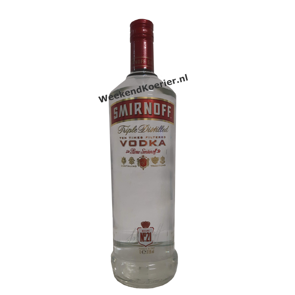 Smirnoff vodka thuisbezorgd